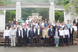 Thứ trưởng Lê Công Thành dâng hương tại Khu di tích Ngã ba Đồng Lộc