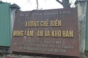 Lào Cai: Điểm san chiết nạp gas cạnh cây xăng chưa nghiệm thu PCCC?