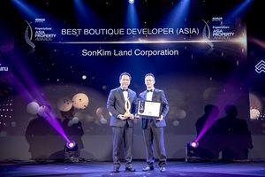 SonKim Land được vinh danh tại Giải thưởng Bất động sản châu Á 2018