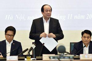 Thủ tướng lưu ý Hà Nội kiên quyết xử lý sai phạm đất đai
