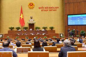 Quốc hội ban hành hai Nghị quyết