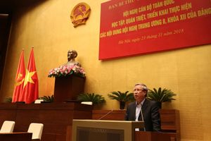 Khai mạc Hội nghị học tập, quán triệt, triển khai thực hiện các nội dung Hội nghị Trung ương 8 khóa XII
