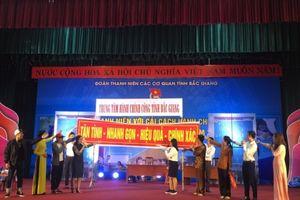 Bắc Giang: Đoàn viên thanh niên hào hứng tham gia hội thi cải cách thu tục hành chính và phong trào sáng tạo trẻ