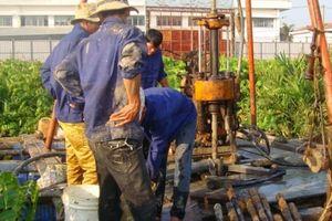 Siết chặt quản lý việc khai thác nước ngầm
