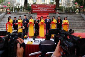 Khai mạc triển lãm 'Hoàng thành Thăng Long qua Mộc bản Triều Nguyễn - Di sản Tư liệu thế giới'
