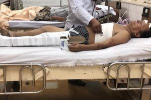 Người đàn ông bán hủ tiếu bị giàn giáo vùi lấp ở Sài Gòn: 'Chậm chút thôi là tôi đã nghẹt thở chết'
