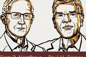 Nobel Kinh tế 2018 về tay hai chuyên gia người Mỹ
