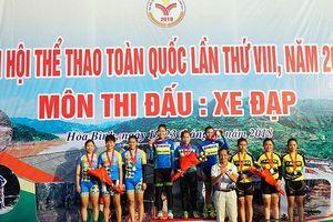 Đoàn Bình Dương nhất toàn đoàn môn đua xe đạp địa hình