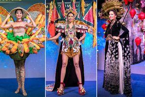 Trang phục dân tộc 'bánh mì' của H'Hen Niê gây tranh cãi