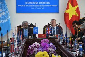 Hội nghị quốc tế đầu tiên về nâng cao năng lực của Việt Nam trong hoạt động gìn giữ hòa bình