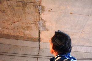 Băng keo chống thấm đường 34.500 tỷ: Mưa vẫn chảy nước