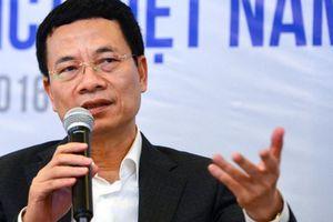 Bộ trưởng Nguyễn Mạnh Hùng: 'Chỉ cần 2 năm là Sở TTTT sẽ phải khác'