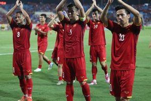 Clip: ĐT Việt Nam ăn mừng đẳng cấp kiểu 'Viking' sau chiến thắng trước ĐT Campuchia