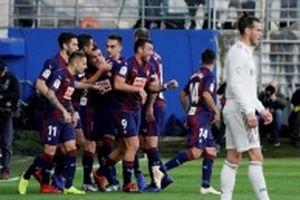 Real thua sốc 0-3 trong tay Eibar