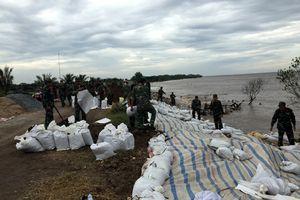 530 cán bộ, chiến sĩ quân đội tham gia giúp dân phòng chống bão số 9