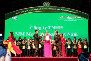 MM Mega Market Việt Nam nhận giải thưởng 'Doanh nghiệp vì nhà nông'