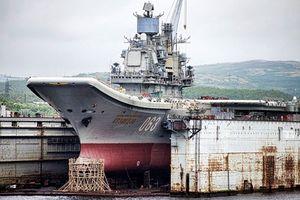 Nga tốn 1 triệu USD sửa tàu sân bay