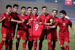 Văn Đức ăn mừng như Ronaldo, tuyển Việt Nam vào bán kết