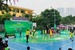 Sôi động VCK giải bóng rổ tìm kiếm tài năng cho VBA