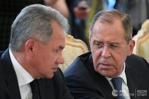 Cảnh báo 'ớn lạnh' của Nga: Ai không nghe Lavrov, sẽ phải nghe Shoigu