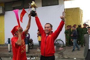 Cổ động viên nói gì trước trận đấu Việt Nam- Campuchia