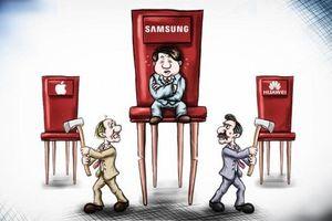 Samsung giữ ngôi vương, Huawei soán ngôi Apple là nhà sản xuất điện thoại thông minh số một thế giới