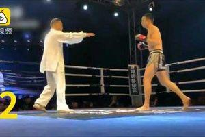 Clip: Cao thủ Thái cực quyền gục dưới tay võ sĩ tự do vô danh sau 5 giây