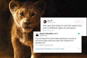 Khán giả tranh luận khi cho rằng 'The Lion King' 2019 không phải phim 'live-action', mà là một loại hoạt hình CGI