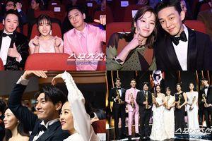 Khoảng khắc đáng nhớ của những ngôi sao đình đám tại lễ trao giải 'Rồng Xanh 2018'