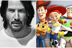 Keanu Reeves có vai trò bí ẩn trong 'Toy Story 4'