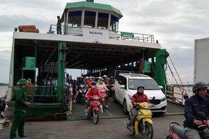 Phà Bình Khánh, Cát Lái ngưng hoạt động do bão số 9