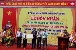 Lễ hội Kin Chiêng Boọc Mạy - Di sản văn hóa phi vật thể Quốc gia
