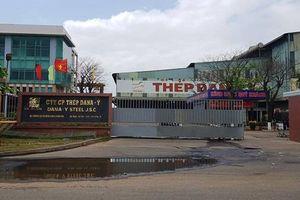 2 nhà máy thép ở Đà Nẵng bị phạt hơn 1 tỉ, đình chỉ hoạt động 6 tháng