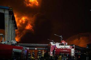 Nổ cực lớn tại nhà máy cơ khí Trung Quốc, ít nhất 26 người thương vong