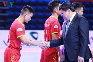Khai mạc Futsal 2018: VOV sẽ đồng hành với ngành TDTT cả nước