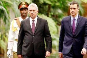 Tây Ban Nha và Cuba nhất trí củng cố hợp tác song phương
