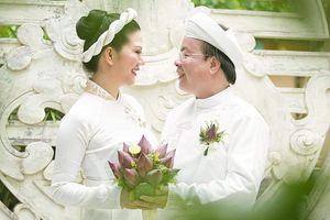 Những hình ảnh tuyệt đẹp trong lễ Hằng Thuận của ca sĩ Đinh Hiền Anh và chồng Thứ trưởng