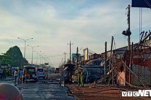 Xe bồn chở xăng va chạm xe ba gác bốc cháy khiến 6 người chết: Sẽ khởi tố vụ án