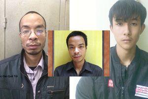 'Thánh Phồng Tôm' và nam thanh niên 18 tuổi bị công an bắt quả tang trộm nắp ốp cột đèn