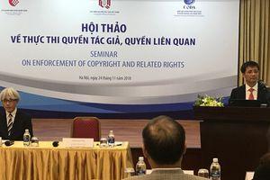 Nhật Bản chia sẻ kinh nghiệm thực thi quyền tác giả, quyền liên quan với Việt Nam