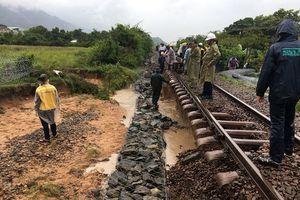 Ngành đường sắt thiệt hại nặng do cơn bão số 9