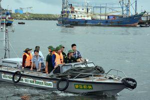Bộ trưởng Nguyễn Xuân Cường kiểm tra công tác phòng chống bão số 9 tại Bà Rịa-Vũng Tàu