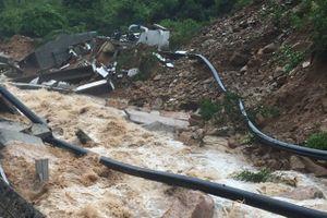 Khánh Hòa: Nhiều nơi ngập, sạt lở nặng và bị chia cắt