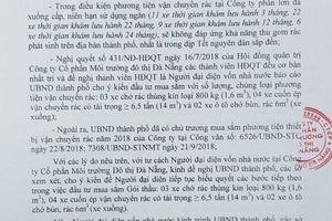 Vụ xôn xao nhân sự ngành môi trường TP.Đà Nẵng: Có dấu hiệu vi phạm sử dụng con dấu?
