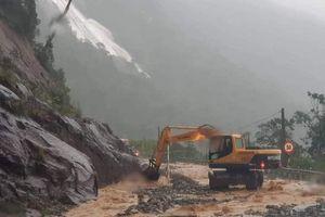 Đóng đường đèo Khánh Lê nối Nha Trang - Đà Lạt vì bão
