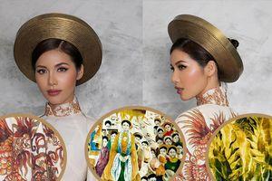 Vén màn 'bí mật' Hoàng Bào đầy 'diễm lệ' mà Minh Tú mang đến Miss Supranational