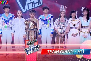 Liveshow 3: Là 'vedette' diễn cuối, team Giang - Hồ xuất tuyệt chiêu, mang cả 'nhạc kịch' lên sân khấu