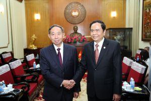 Đoàn đại biểu cấp cao UBTƯ MTTQ Việt Nam thăm hữu nghị CHND Trung Hoa
