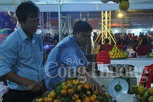 Khai mạc Hội chợ hàng công nghiệp nông thôn và nông sản vùng Đồng bằng sông Hồng - Lễ hội cam Hưng Yên 2018