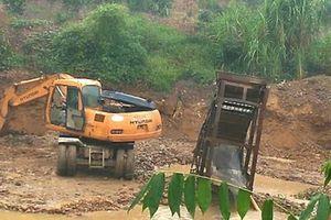 Bắc Giang: Xuất hiện tình trạng chảy máu tài nguyên tại huyện Lục Nam